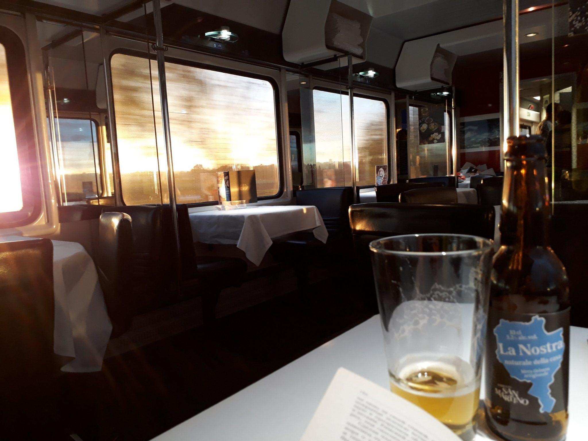 Swiss restaurant car review
