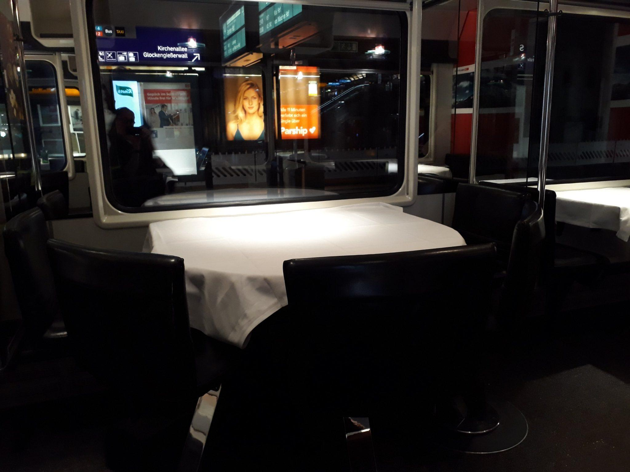 SBB Swiss Restaurant Car Review Elvetino