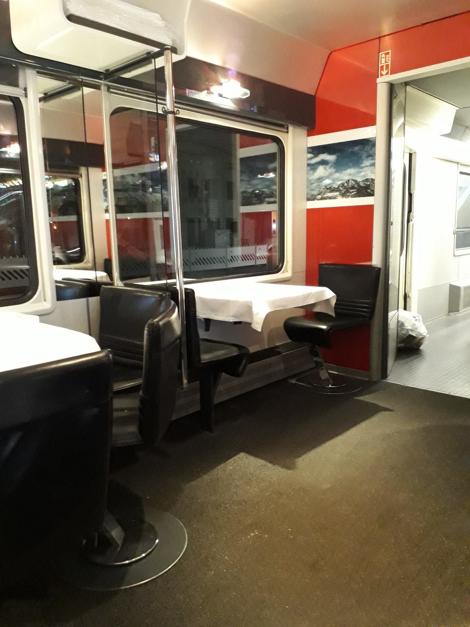 Swiss Restaurant car review SBB Elvetino