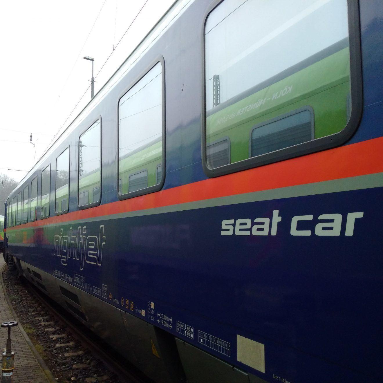European Night Train Seated Car