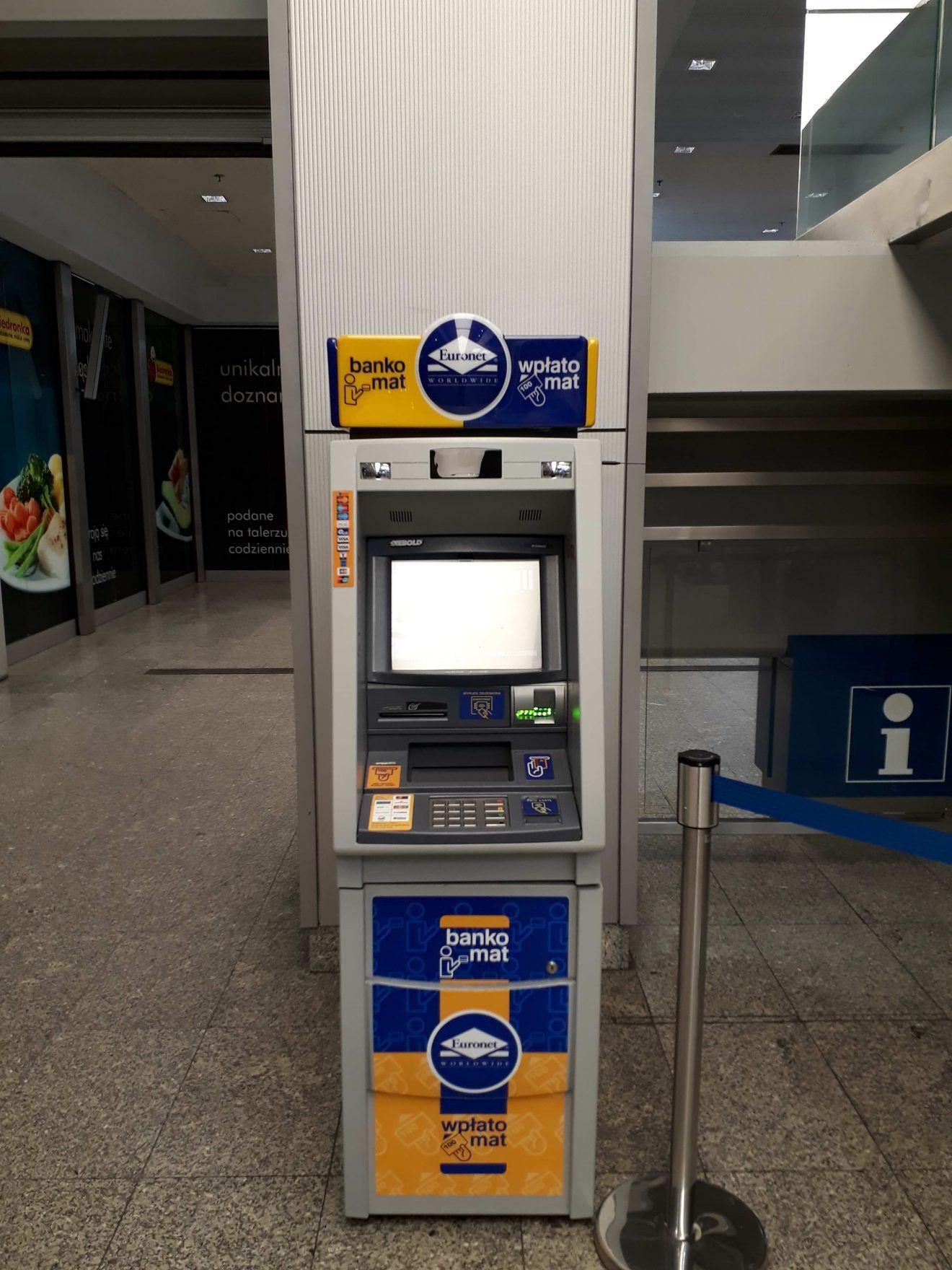 Kraków Główny Euronet ATM