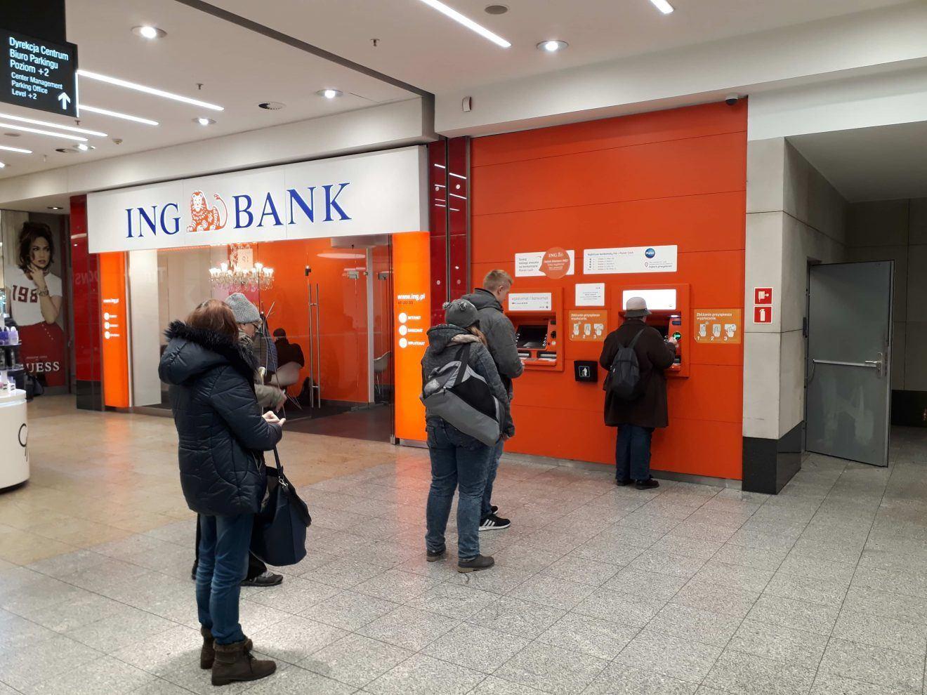 Krakow station ATM