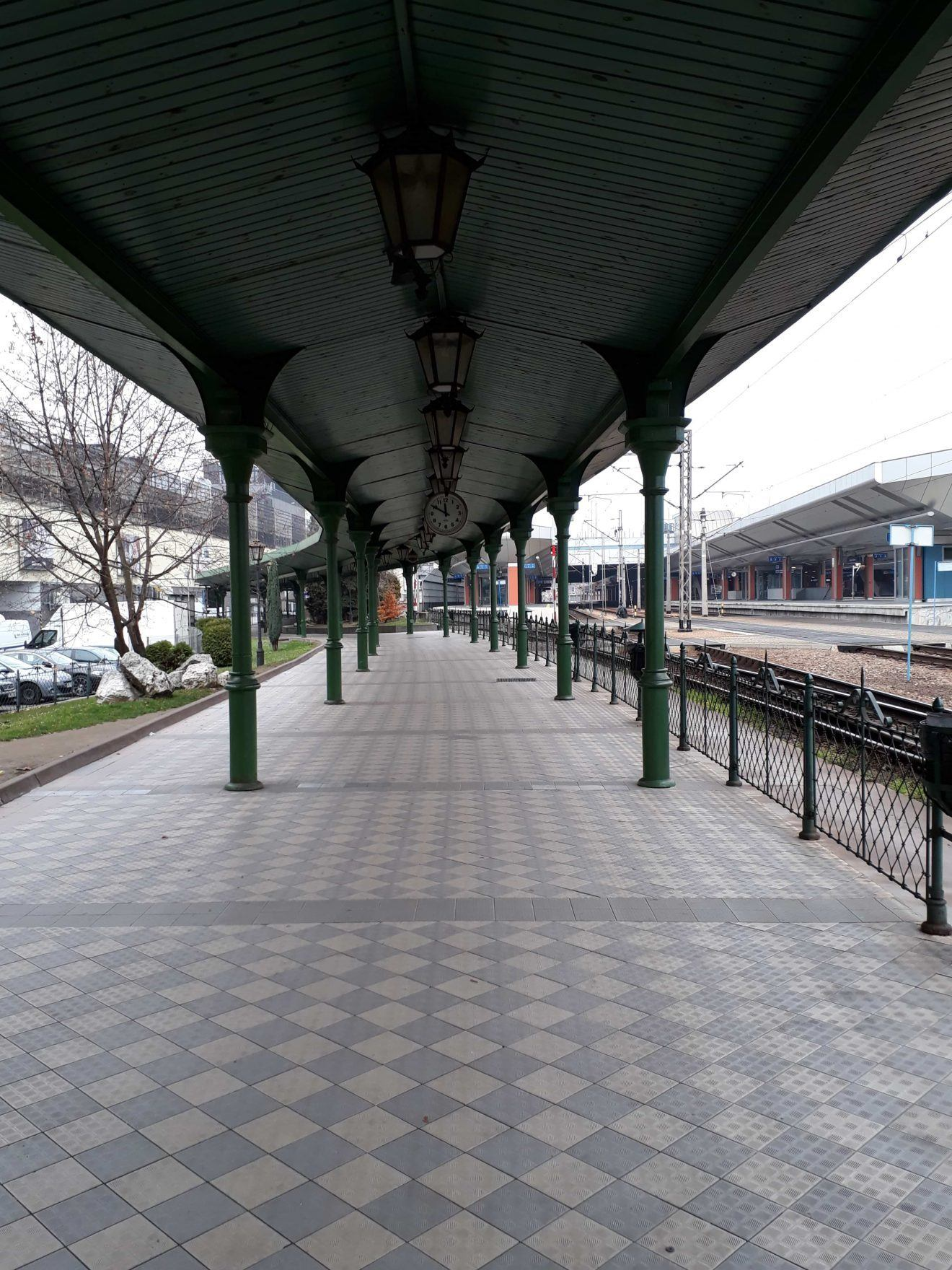 Kraków Główny secret entrance
