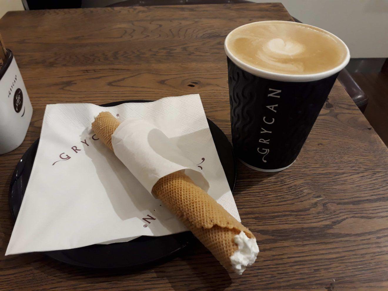 Krakow Glowny coffee