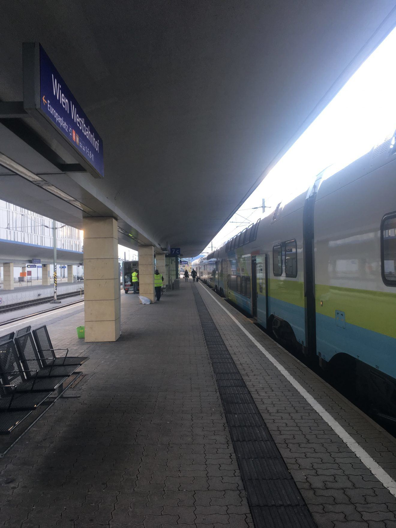 Westbahn at Vienna West