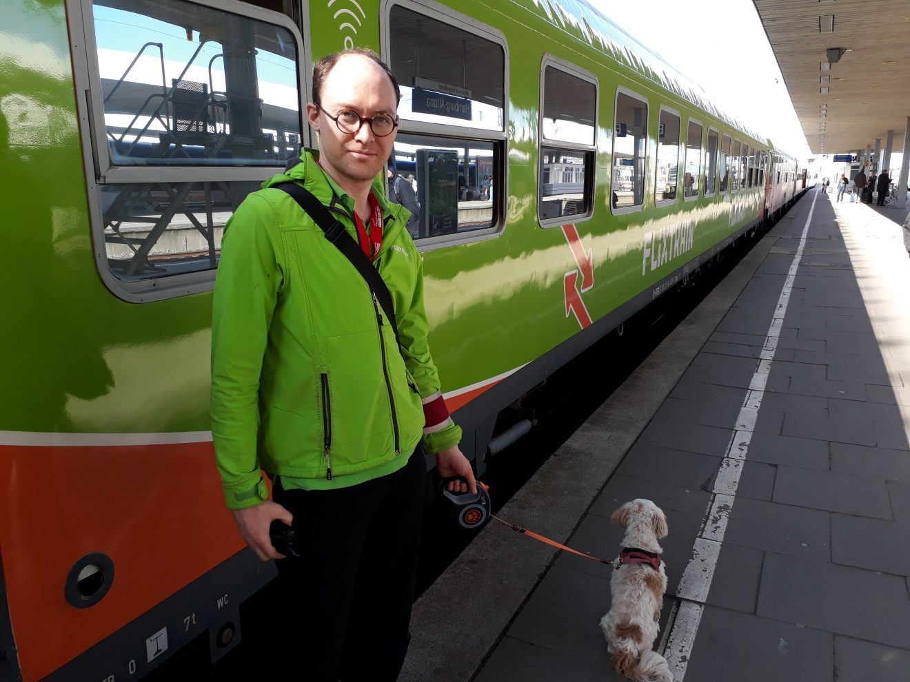 Flixtrain Dog