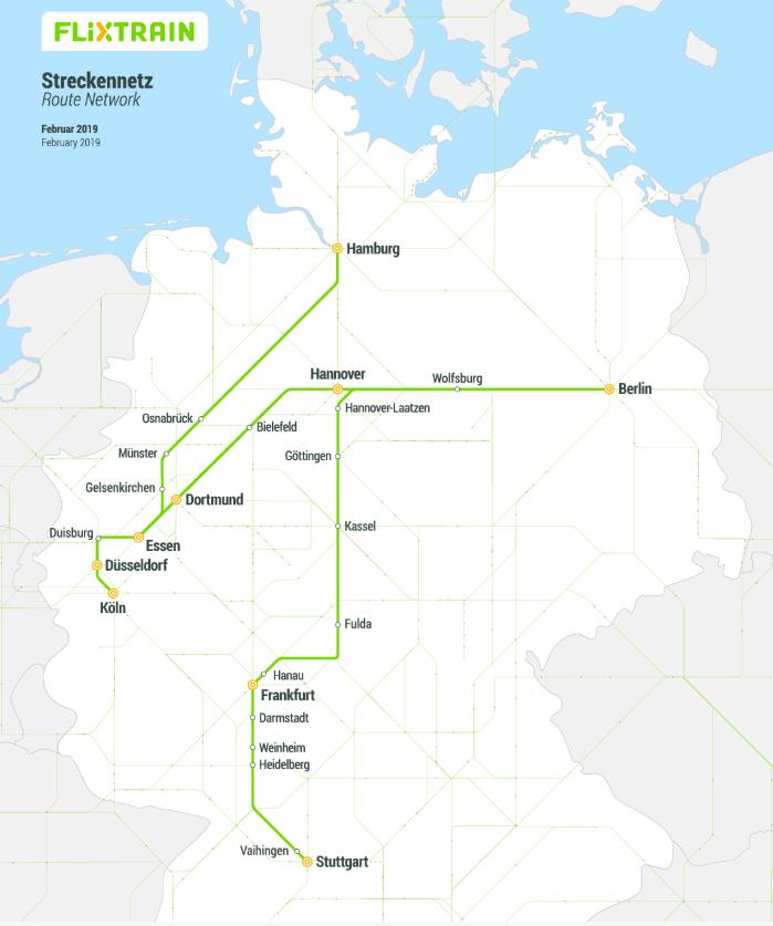 Flixtrain Network