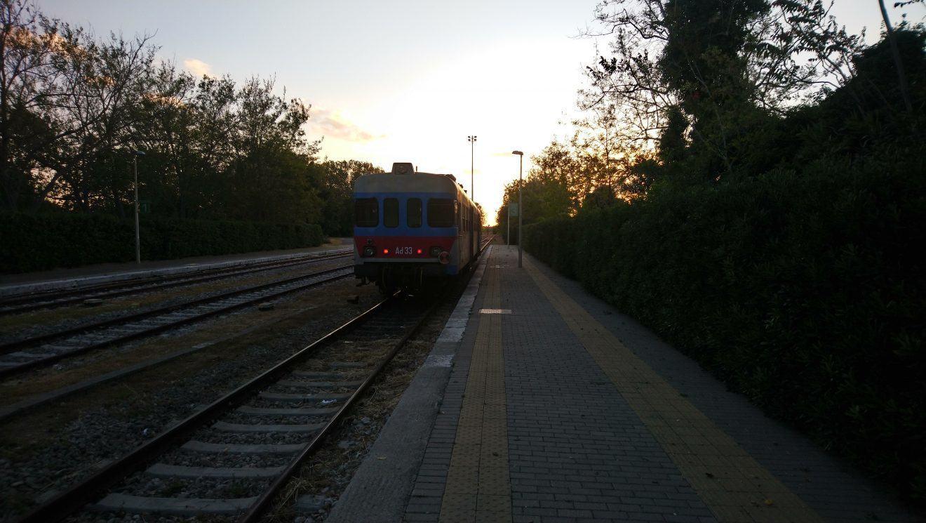 local train Italy