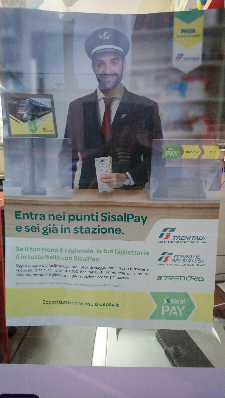 Sisal Pay Trenitalia