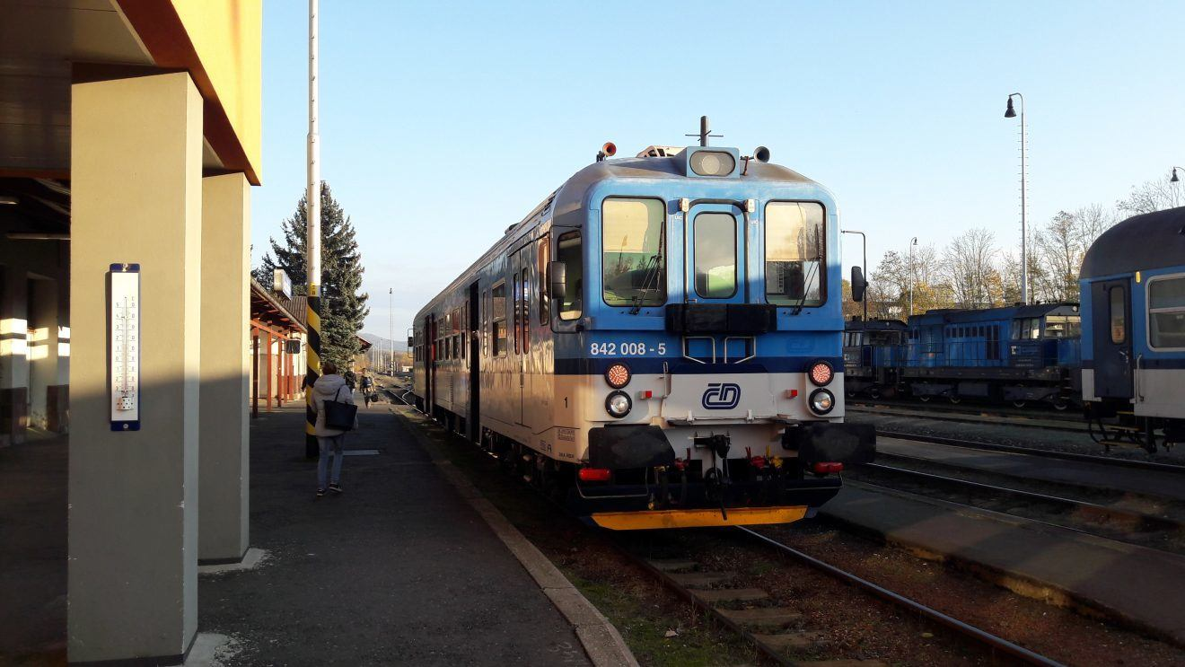 Czech Railcar Domazlice