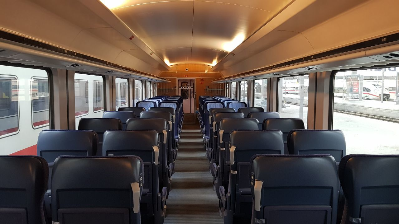 Empty DB train