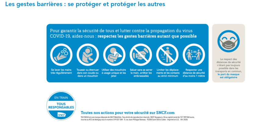 French Covid safety