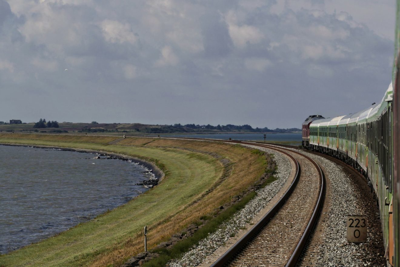 Alpen Sylt Nachtexpress on the Hindenburgdamm