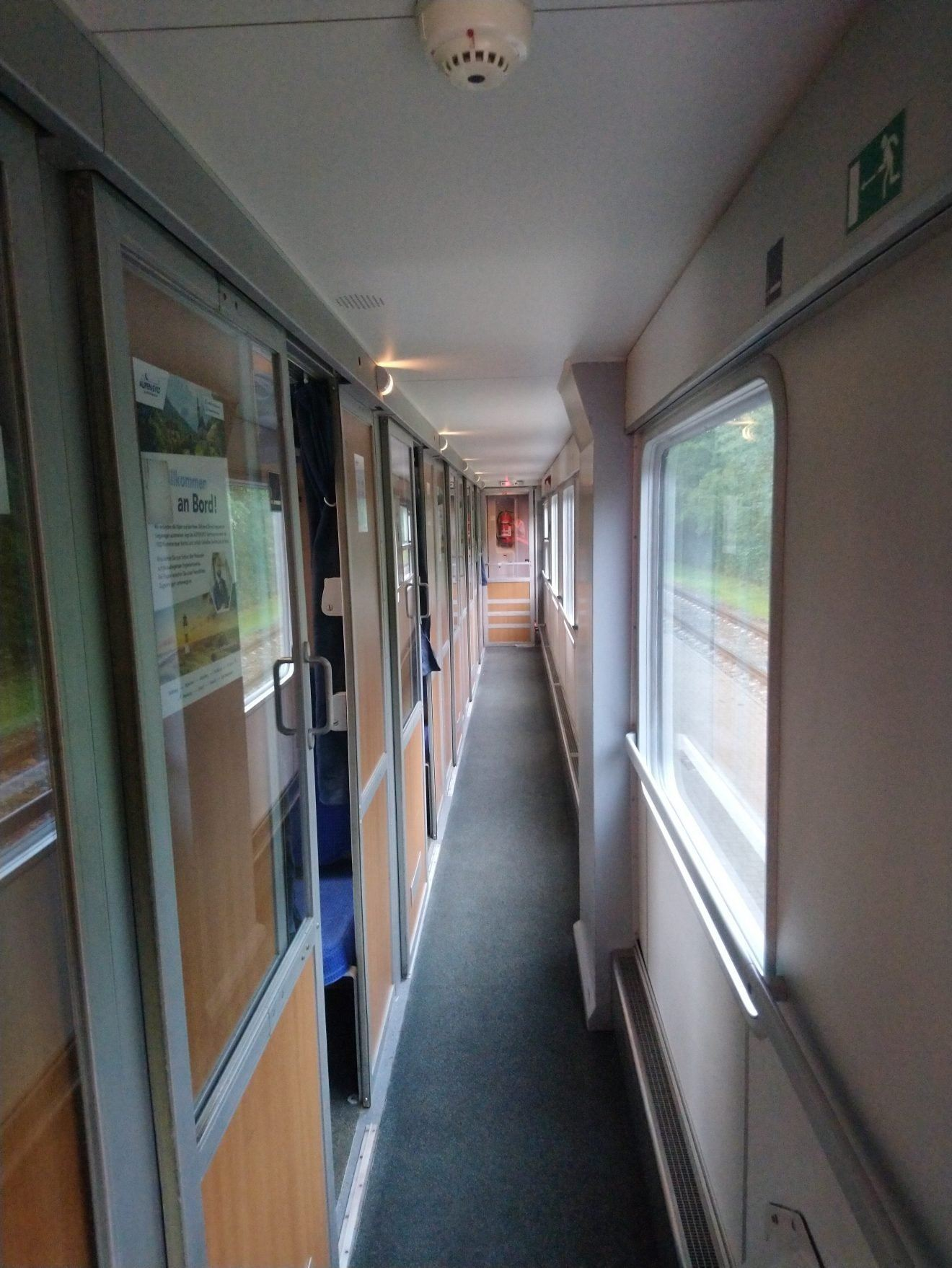 Couchette Corridor